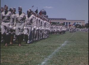 Texas A&M Corps of Cadets Final Review (1957)