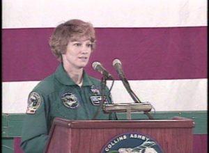 KPRC-TV: STS-93 Commander Eileen Collins (1999)