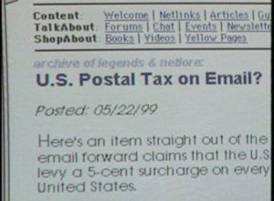KPRC-TV: Email Hoaxes (1999)