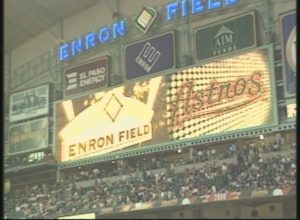 KPRC-TV: First Game at Enron Field (2000)